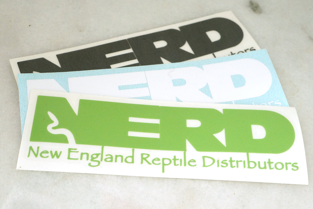 Small NERD Decal