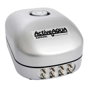 Active Aqua Air Pump 8 Outlet 25 Litre Per Minute - GrowDaddy