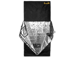 "2x4 Gorilla Grow Tent with 12"" Extension Kit - GrowDaddy"