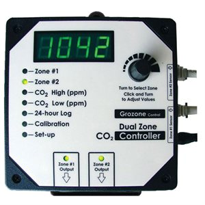 Grozone CO2 Controller 0-5000ppm - GrowDaddy