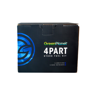 GreenPlanet Nutrients: 4 Part Hydro Fuel Kit - GrowDaddy