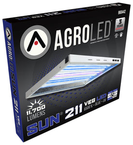 AgroLED Sun 211 Veg LED 6500K + Blue + UV - 120 Volt - GrowDaddy