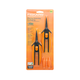 Fiskars Non-Stick Softgrip Micro-Tip Pruning Snip 2 Pack - GrowDaddy