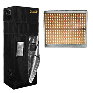2 x 2.5 Gorilla Grow Tent with TS1000 LED - GrowDaddy
