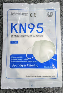 KN95 Face Masks (2-Pack) - GrowDaddy