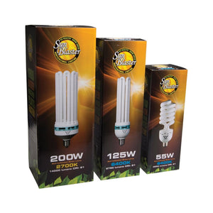 Sunblaster: 125w 6400k CFL Bulb - GrowDaddy