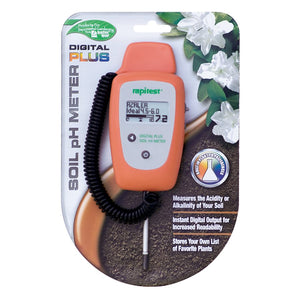 Luster Leaf Digital Plus Soil pH Meter - GrowDaddy