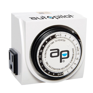 Autopilot: Dual Outlet Analog Timer - GrowDaddy