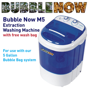 Bubble Now M5 5 Gallon Extraction Washing Machine w/ 220u Work Bag - GrowDaddy