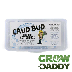 Crud Bud: Alcohol Filled Cotton Buds - GrowDaddy