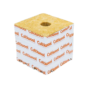 Cultiwool Block 4'' x 4'' x 4'' (144 / Cs) - GrowDaddy
