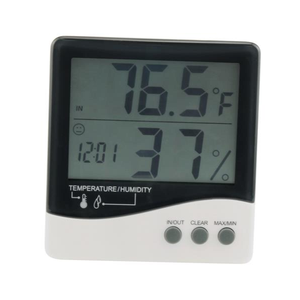 Grower's Edge Large Display Digital Thermometer & Hygrometer - GrowDaddy