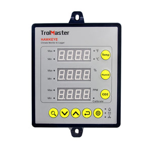 TrolMaster Hawkeye Climate Monitor and Logger CM-1 - GrowDaddy