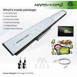 Mars Hydro: Sp-3000 LED Grow Light - GrowDaddy