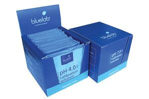 Bluelab: 7.0 and 4.0 Calibration Solution 20 ml Sachet - GrowDaddy