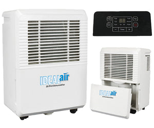 Ideal Air Dehumidifiers - All Sizes - - GrowDaddy