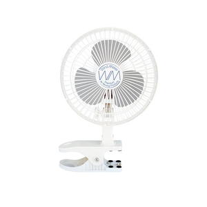 "WindMaker Clip Fan 6"" 120V 18W-14W 2 Speeds - GrowDaddy"