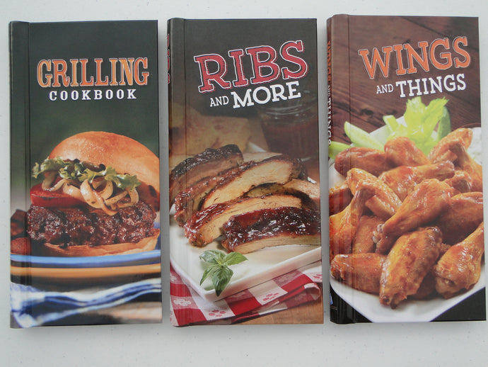 Ribs, Wings, and Grilling Cookbooks