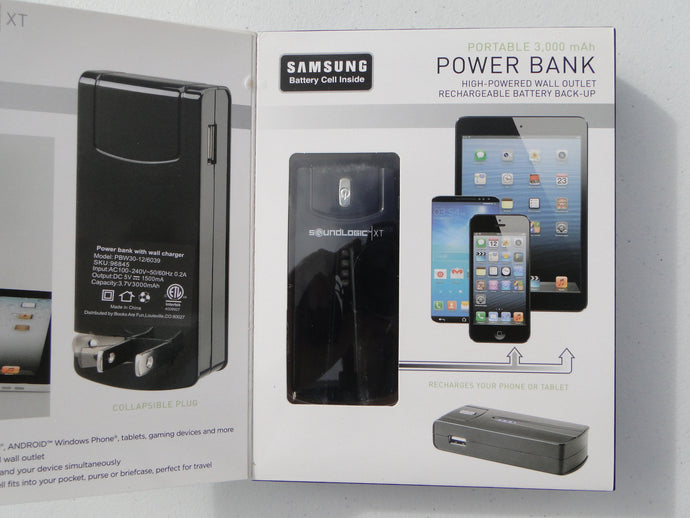 Portable Power Bank with Samsung Battery Cell