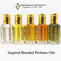 Inspired Branded Perfume Oils - For Him