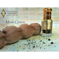 Pure White Musk + 100% Pure Musk Grain - Ameenroma's Noor -