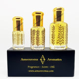 Sweet Amber Rose - Non Alcoholic - Pure Fragrance Attar Perfume Oil