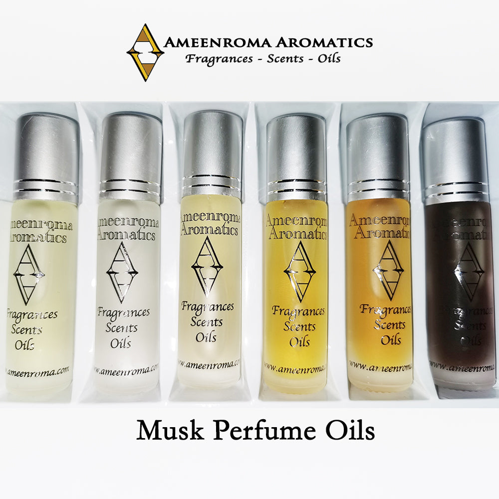 Musk Collection - Pure Fragrance Attar Perfume Oil/ Ittar (Alcohol Free)