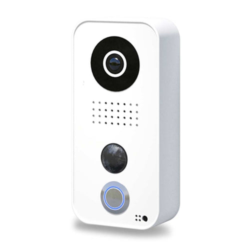 DoorBird IP Video Door Station D101, Polycarbonate housing, White Edition