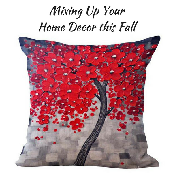 Color is Definitely In: Mixing Up Your Home Decor this Fall
