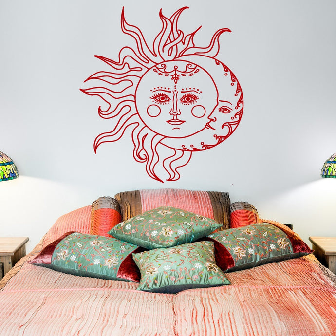 Crescent Moon Boho Wall Art