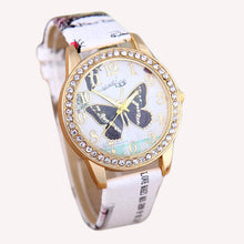 Vintage Butterfly Rhinestone Quartz Wristwatch - Roots and Sticks