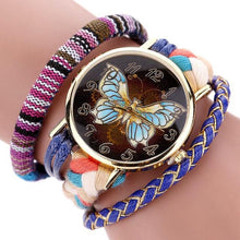 Retro Leather Wristwatch Vintage Boho layered Wristband - Roots and Sticks