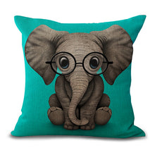 Elephant Pillow Case Eco Friendly