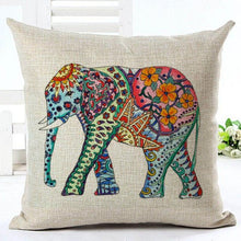 Elephant Pillow Case - Roots and Sticks