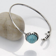 Turquoise Boho Moon Sun Cuff Bracelet - Roots and Sticks