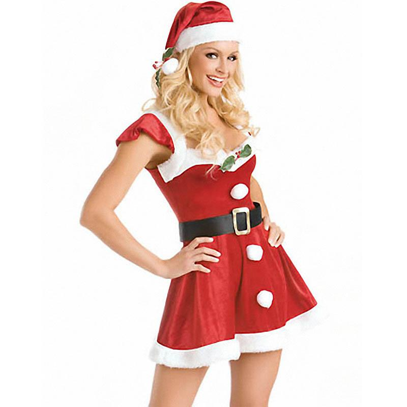Sexy Christmas Santa Costume - Roots and Sticks