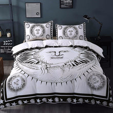 Boho Home Sun and Moon Duvet Cover Set