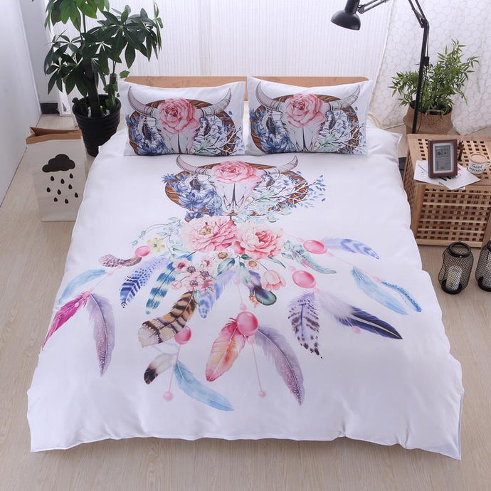 Dream Catcher Duvet Cover Bedding Set - Roots and Sticks