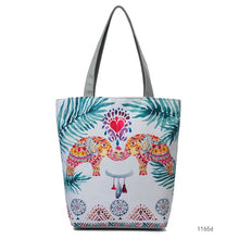 Art Vintage Canvas Beach Shoulder Bag