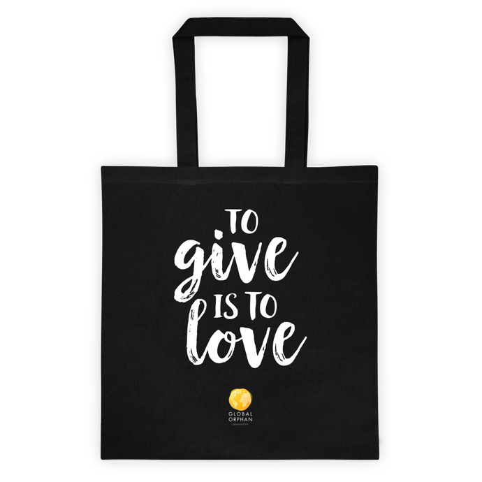 Give Love Tote Bag