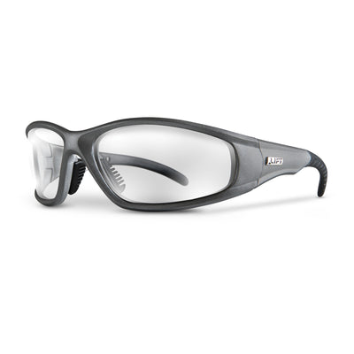 STROBE Safety Glasses - Silver - LIFT Aviation