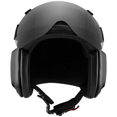 AV-1 KOR With Visor - Matte Black - LIFT Aviation