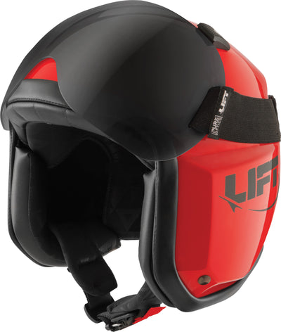 LIFT Aviation - AV-1 KOR With Visor - Red