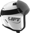 LIFT Aviation - AV-1 KOR With Visor - White