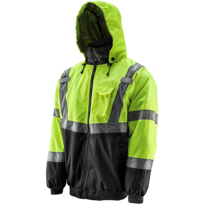 Hi-Viz Bomber Jacket - LIFT Aviation