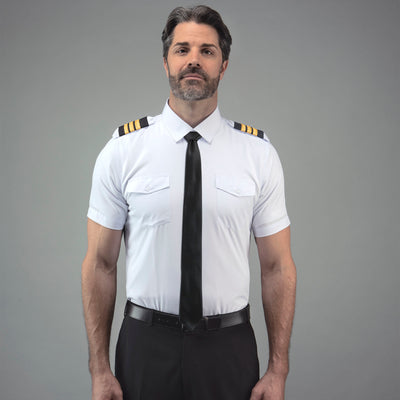 Flextech - Professional Pilot Shirt Short Sleeve - LIFT Aviation