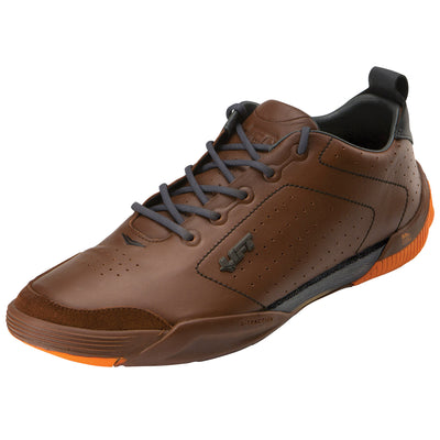 Dakota - Brown & Orange - LIFT Aviation - Pilot Shoes, Flightcaps, Helmets