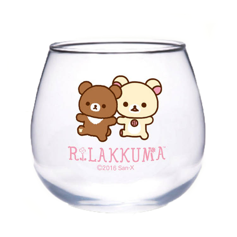Korilakkuma and Kogumachan Glass