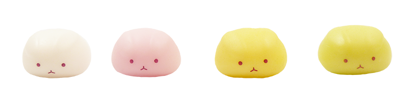 Rabbit Dango Squishies