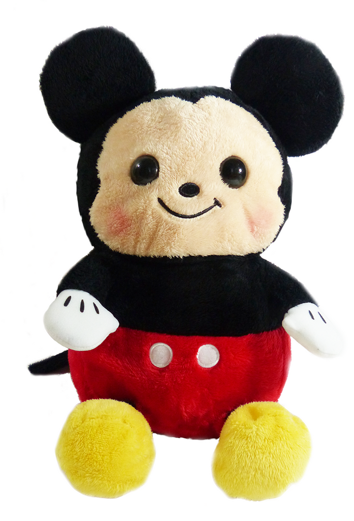 Medium Mickey Mouse Blush Plush 19''
